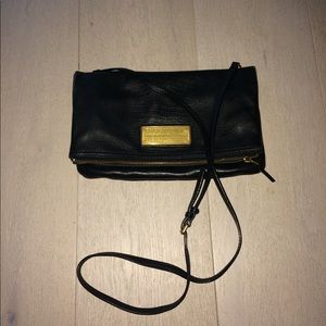 Black leather Marc by Marc Jacobs foldable purse